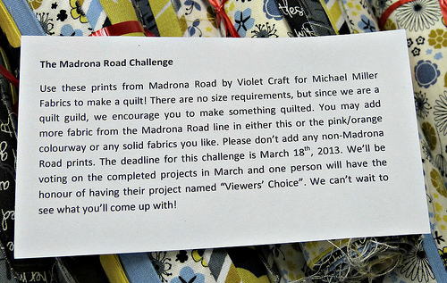 madrona road challenge instructions