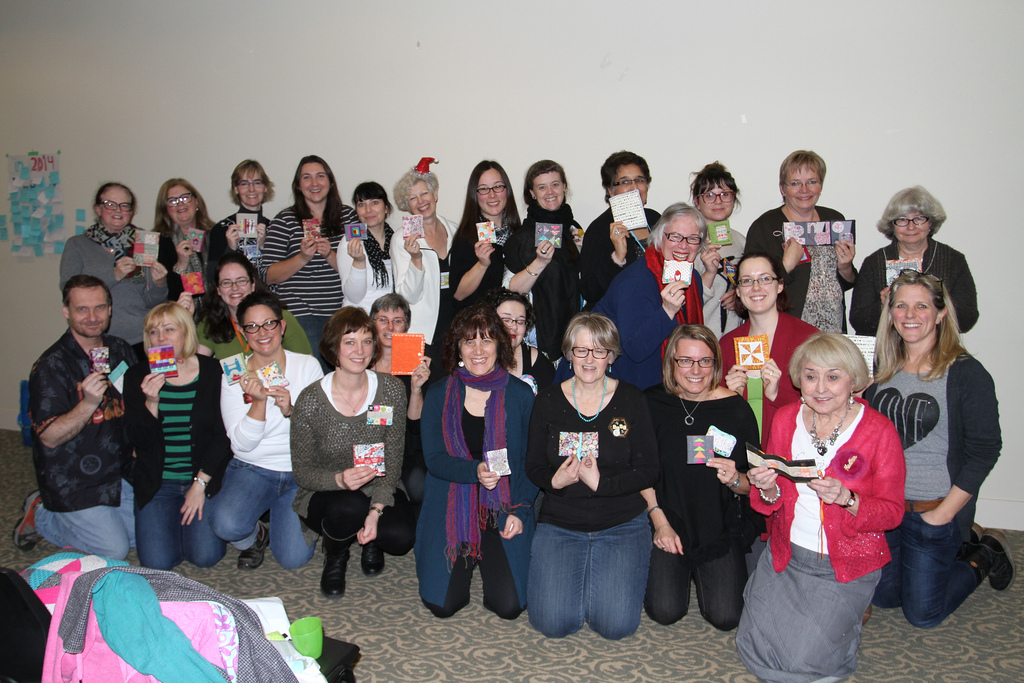 UK needlebooks group photo