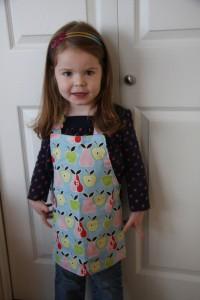 child's apron