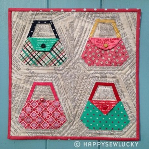 purses mini quilt