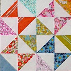 Hour glass blocks by Rita Hodge of Red Pepper Quilts