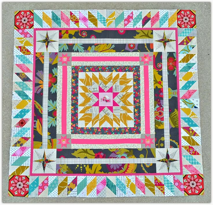 February – Borders | Vancouver Modern Quilt Guild